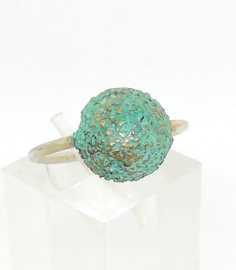 anillo semilla verde