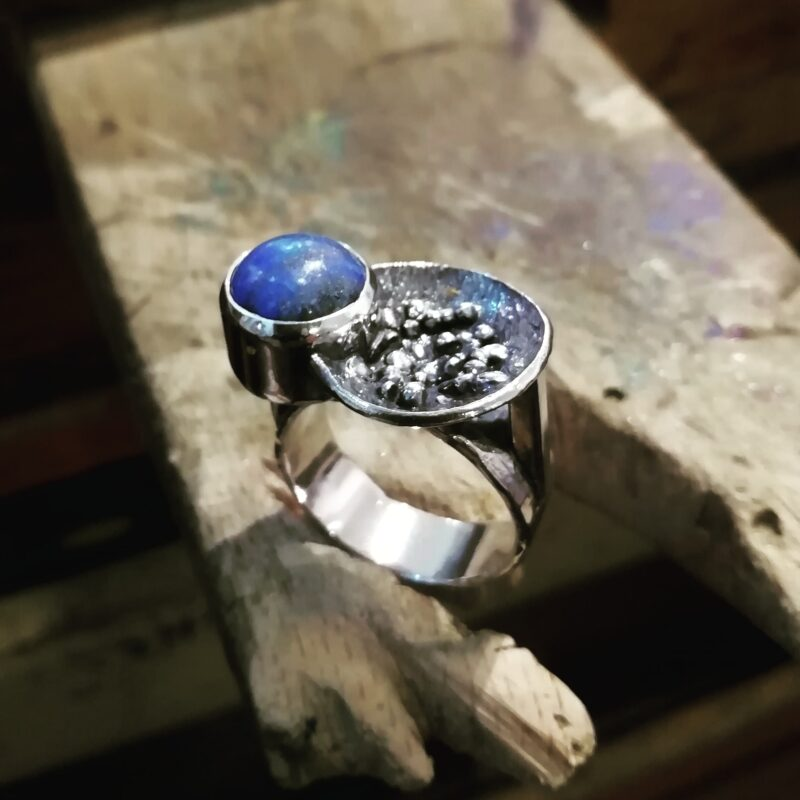 Anillo Lapis Azul