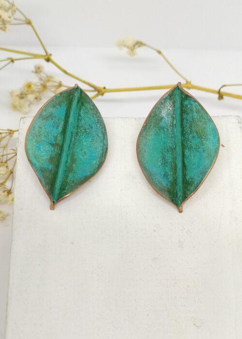 Pendientes hojas pequeños